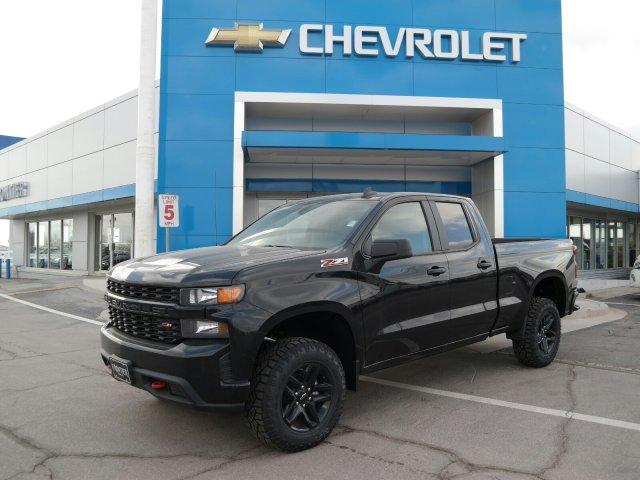 New 2019 Chevrolet Silverado 1500 Custom Trail Boss 4wd Double Cab